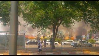 שריפה במכללת ספיר