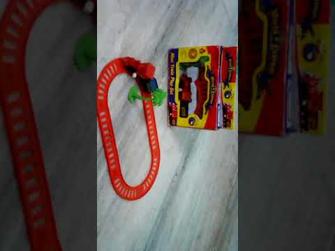 World Express mini wind up Train play 6 piece set for 3+ child no battery needed