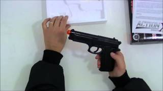 Taurus PT 92 Spring 6mm Airsoft ABS