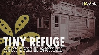 Tiny Refuge, a tiny home in Montreal
