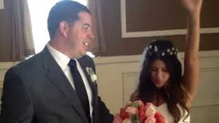 Chris and Jessica loved their wedding ceremony and Wedding Officiant Alan Katz.