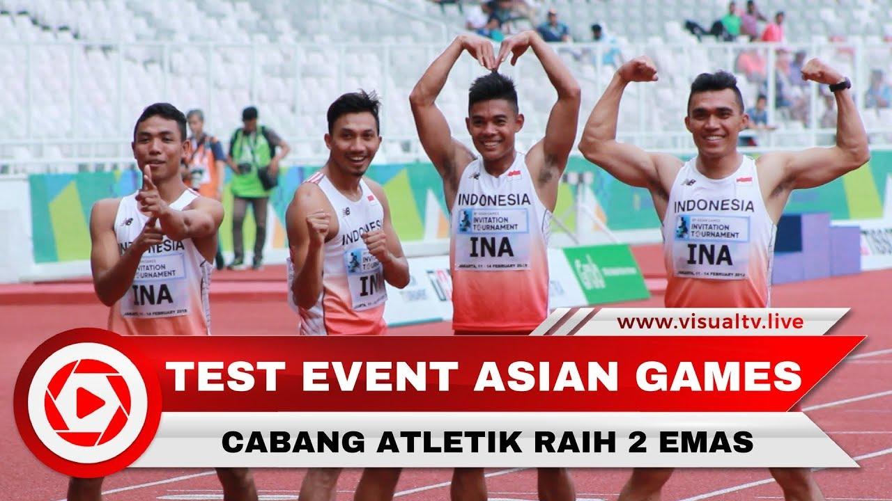 Indonesia tambah dua emas di cabang atletik test event asian games indonesia tambah dua emas di cabang atletik test event asian games 2018 stopboris Gallery