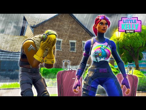 LITTLE KELLY AND RAPTOR BREAK UP - Fortnite Short Film