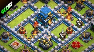 TH12 Trophy Base | Troll Traps | Best CoC TH12 Anti 2 Star Base 2018 |Champion to Legend League
