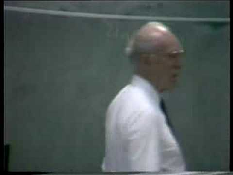 Gerard Debreu: Lecture 1 of 4  on Econ Theory (1987)