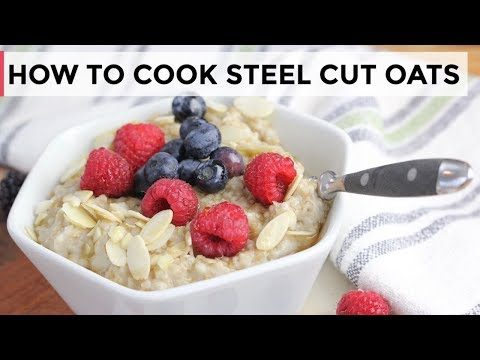 HOW-TO COOK STEEL CUT OATMEAL | Slow Cooker, Stove-top + Overnight