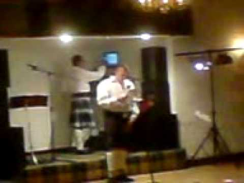 Barry Quin giving beast man speech.