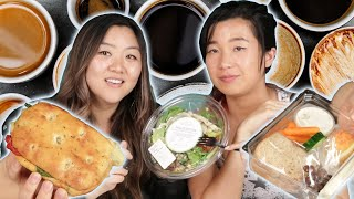 We Try Starbucks Lunch Items