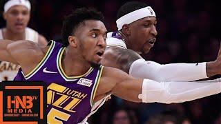 Los Angeles Lakers vs Utah Jazz Full Game Highlights | April 7, 2018-19 NBA Season