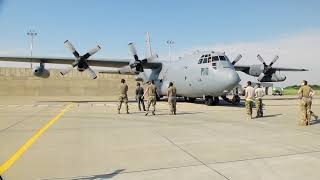 480th Expeditionary Fighter Squadron Integrates with EC-130H