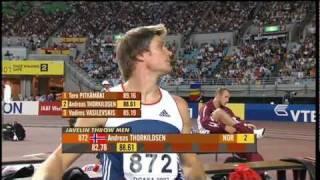 Men's Javelin Throw - World Championships 2007 Osaka - part 1