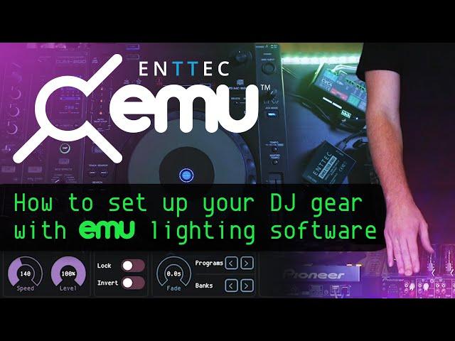 EMU lighting software: How to set up your DJ gear
