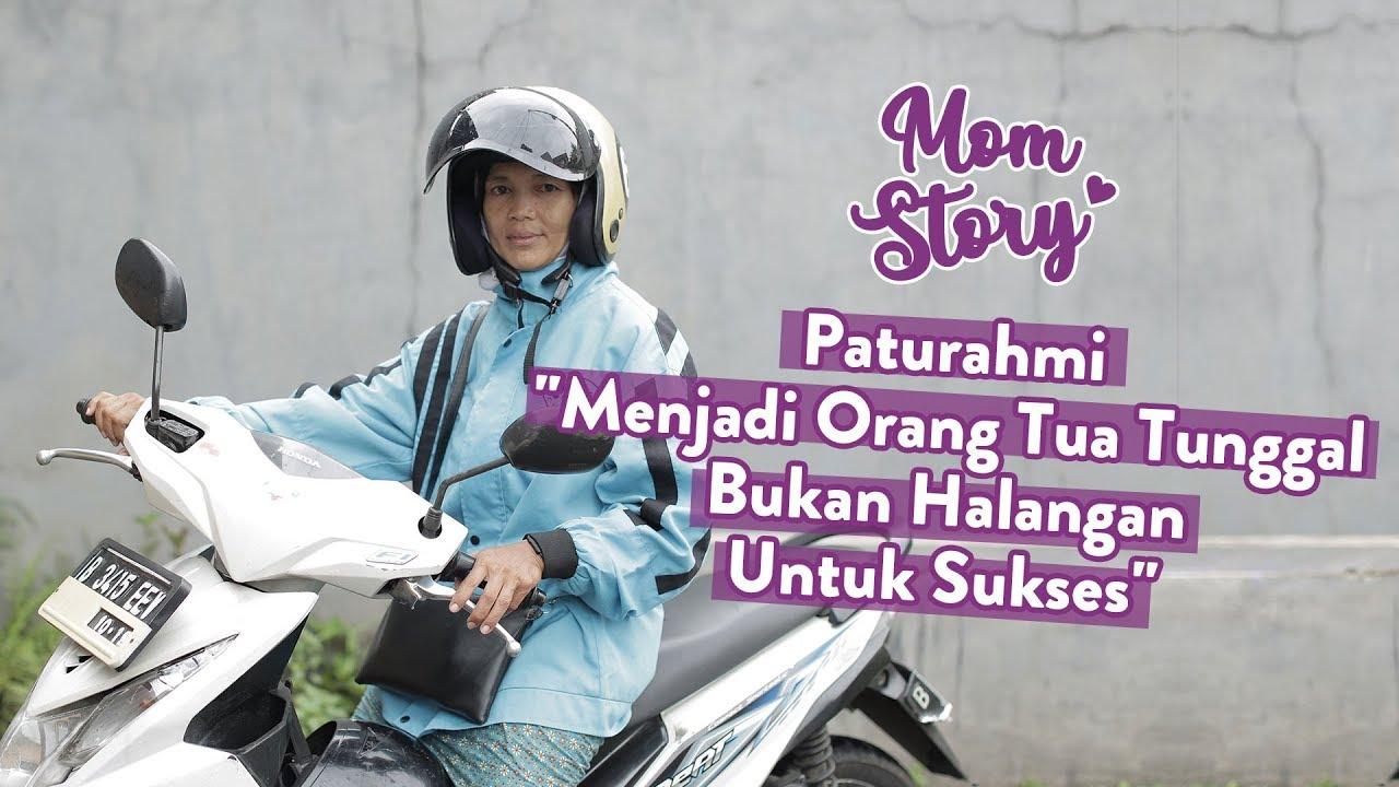 graphic about I Mom called Perjuangan Seorang Ibu Yang Menjadi Tukang Ojek I Mother Tale