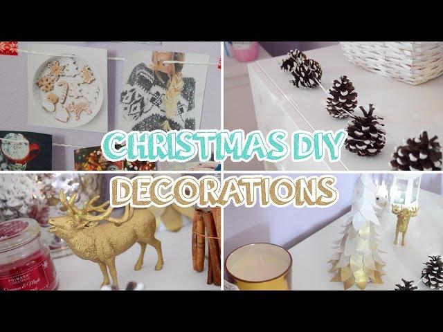 Jednoduché viano?né DIY dekorácie 2015
