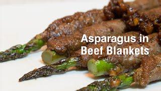 Asparagus In Beef Blankets ( 발사믹 아스파라거스 말이 )