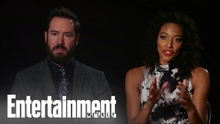 'Pitch' Co-Stars Kylie Bunbury & Mark-Paul Gosselaar On The Series & Baseball | Entertainment Weekly