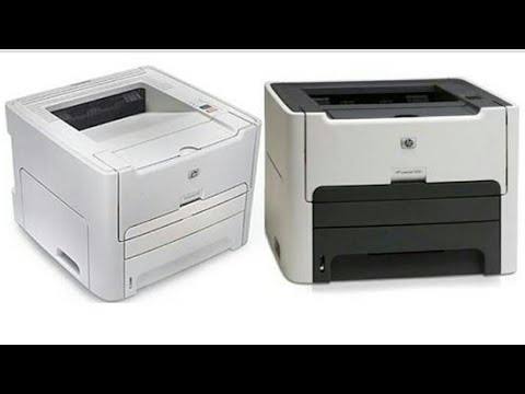 How to assemble & disassemble HP LaserJet 1160 & 1320 Part 1 - YouTube