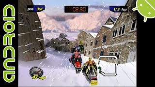 Polaris SnoCross | NVIDIA SHIELD Android TV | Mupen64Plus FZ Emulator [1080p] | Nintendo 64