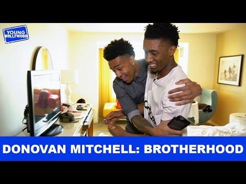 Brotherhood Banter with Donovan Mitchell & John Collins