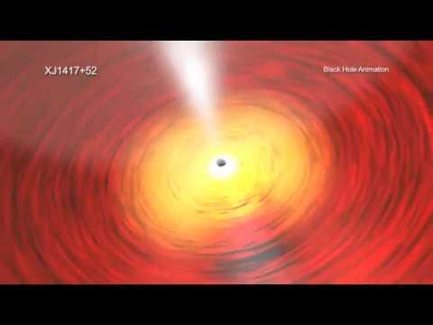 X-ray Emitting Black Hole May Be Ancient Galaxy Core | Video