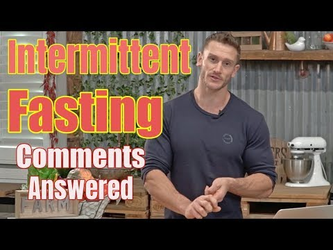 Responding to Fasting Comments (Your Questions Answered)