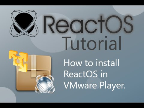How to install ReactOS in VMware Player