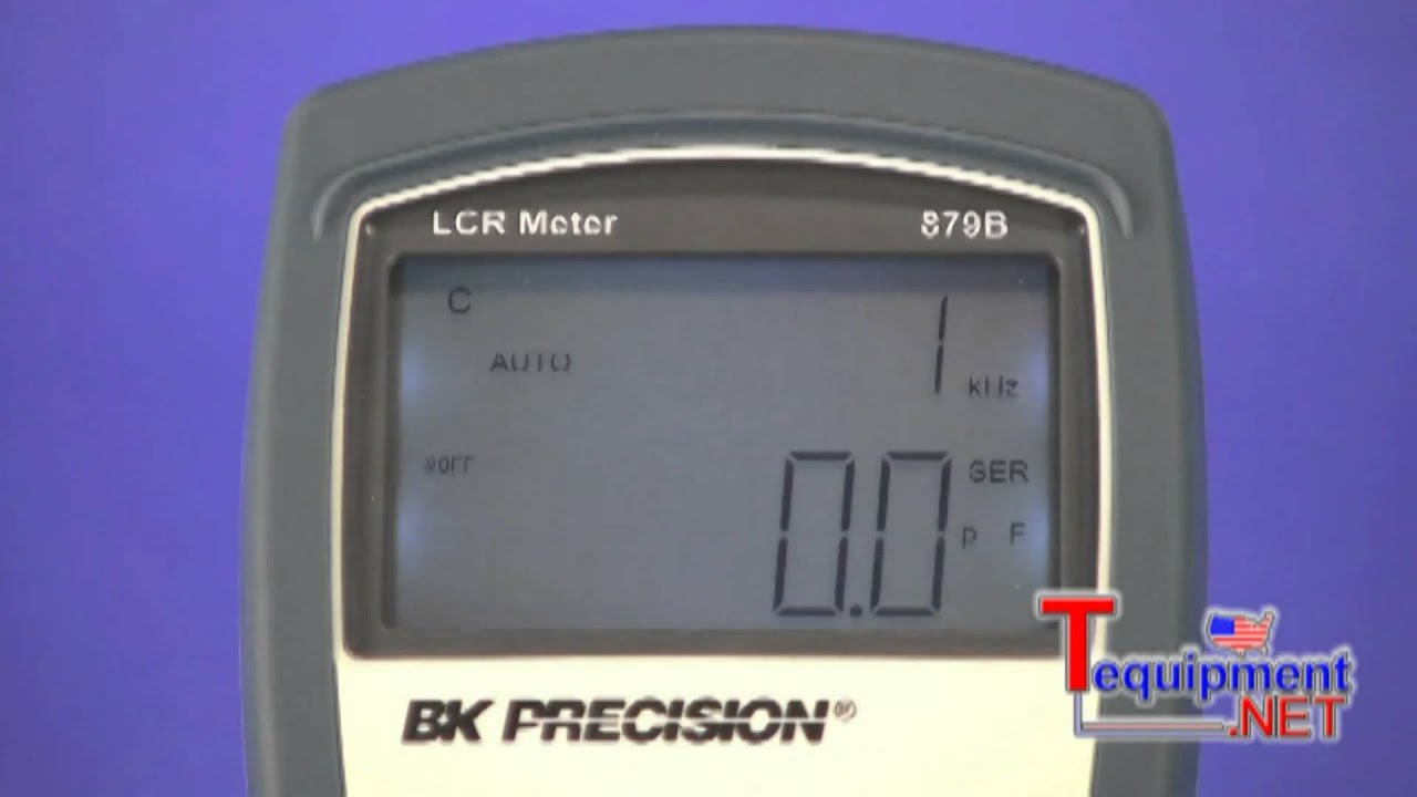 Bk Lcr Meter : Bk precision b how to use an lcr meter youtube