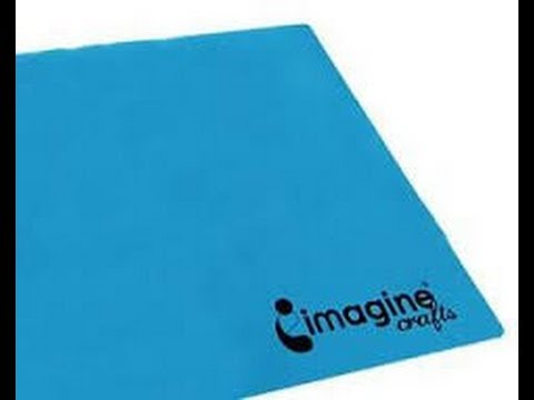 Imagine crafts craft mat review demo youtube for Imagine crafts craft mat