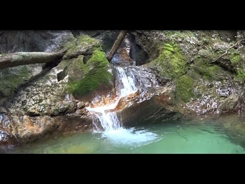 Canyoning near Lake Bled - Sava Bohinjka