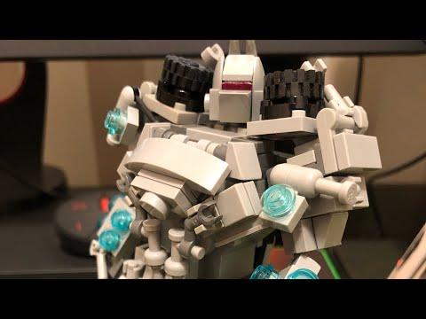 Lego Transformers Custom DOTM Soundwave Review (обзор на русском) Version 1