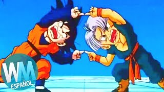 ¡Top 10 TRANSFORMACIONES de Dragon Ball Z!
