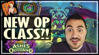 NEW DEMON HUNTER CLASS IS TOO OP! - Ashes of Outland Hearthstone