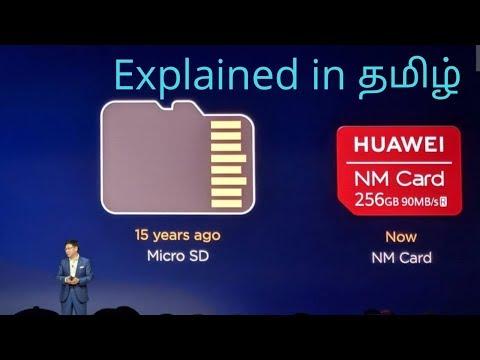 Huawei Nano Memory card(NM)Explained in tamil || Tech boy
