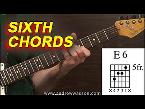 major & minor sixth chords