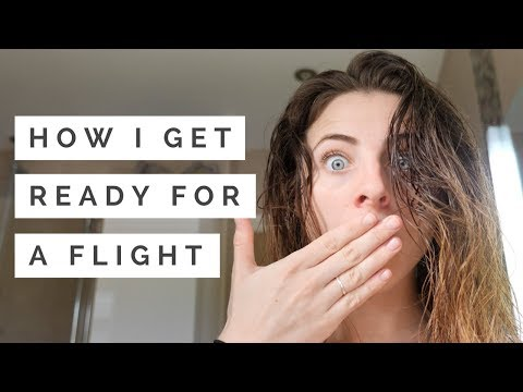 How I Get Ready for a Flight