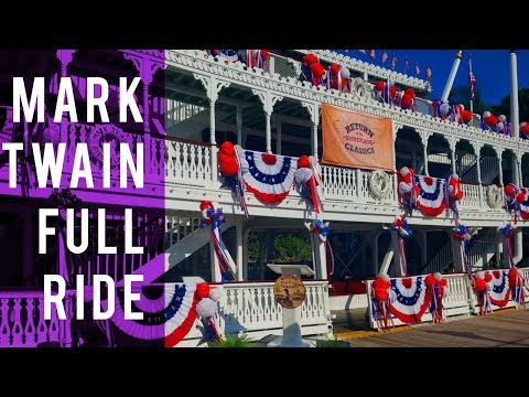 FIRST LOOK!  All New Mark Twain full ride through - New Views + New Narration?