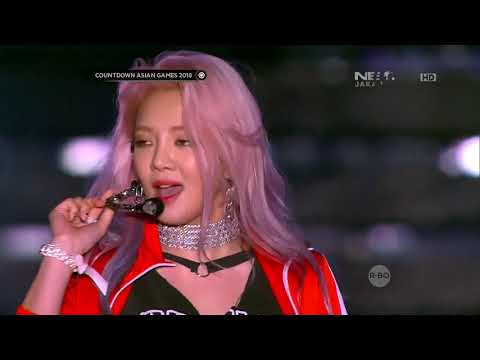 (1080p) Hyoyeon Mystery+Wannabe 170818 Net HD Countdown Asian Games 2018
