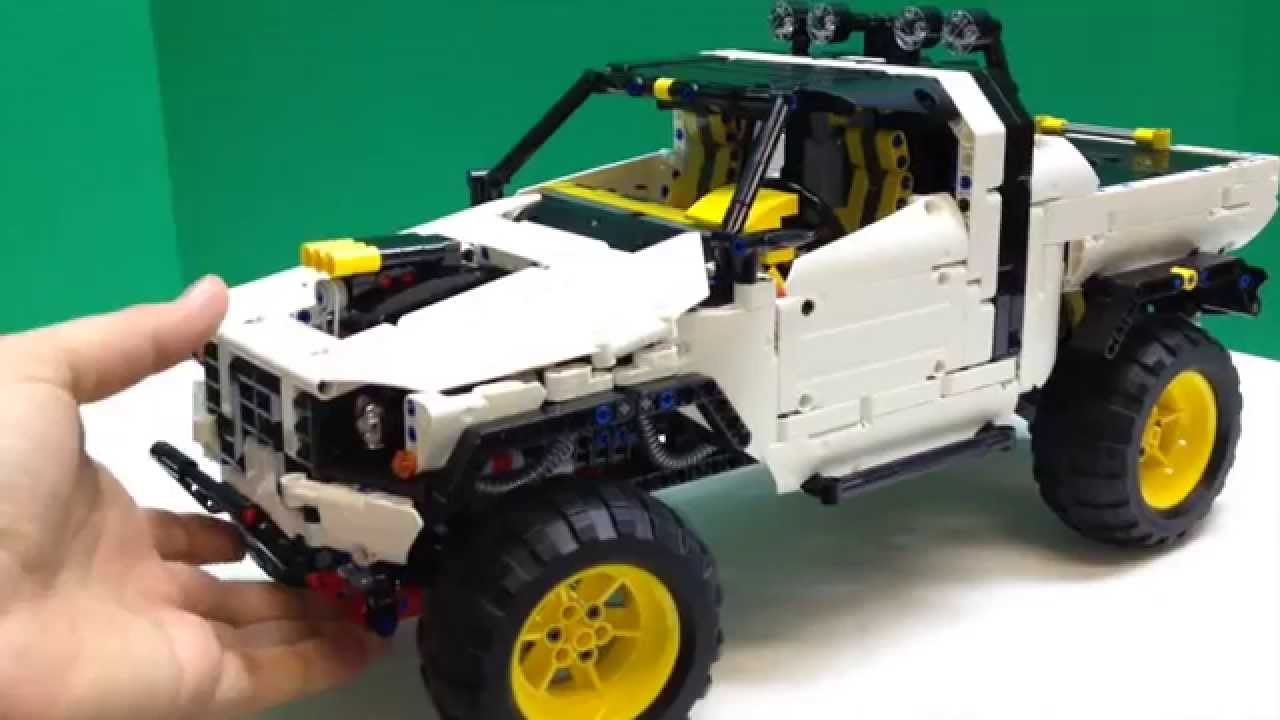 lego technic custom pick up 4x4 review compare to madoca. Black Bedroom Furniture Sets. Home Design Ideas