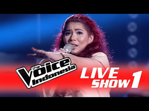 Aline Bongkar   Show 1  The Voice Indonesia 2016