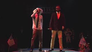 Bernie Sanders vs. Obama Freestyle Rap Battle (feat. Trump) at Tourettes without Regrets
