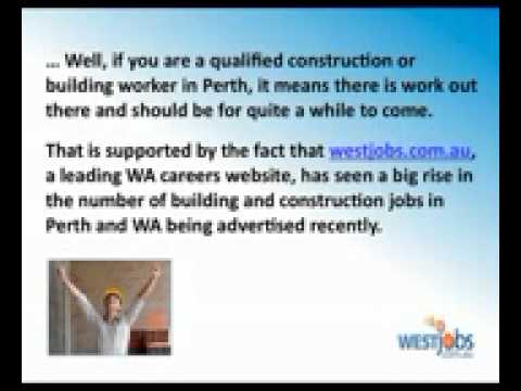 Construction Jobs In Perth