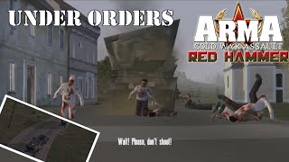 """ARMA: Red Hammer (Operation Flashpoint: Red Hammer) Mission 14 """"Under Orders"""""""