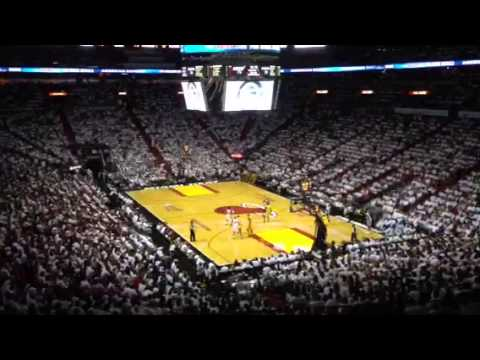 Heat VS Pacers 2013 Game 2 Round 3