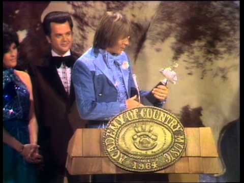 John Denver Wins Album of the Year  ACM Awards 1975