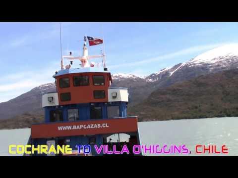 Cochrane to villa O'higgins, Chile