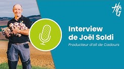 Interview : Joël Soldi, producteur d'ail de Cadours à Brignemont