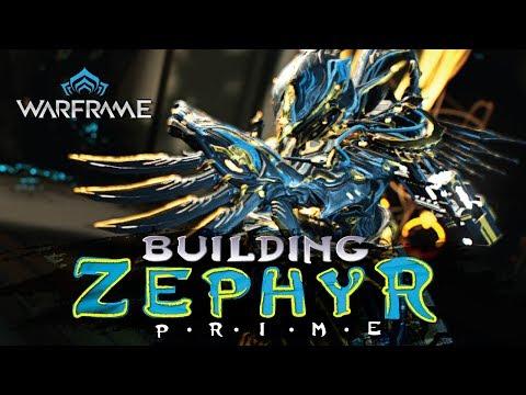 Warframe: Zephyr Prime - Turbulence - 1 Forma Build - 2018