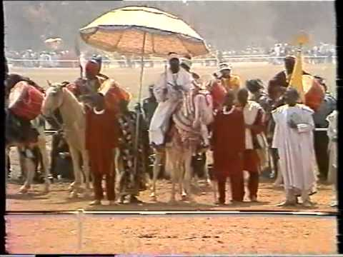 Borno Contingent at festac77 Durbar Kaduna