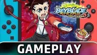 Beyblade Burst: Battle Zero | First 40 Minutes on Nintendo Switch