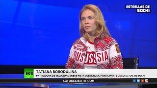 Entrevista con Tatiana Borodúlina, patinadora rusa de velocidad sobre pista corta